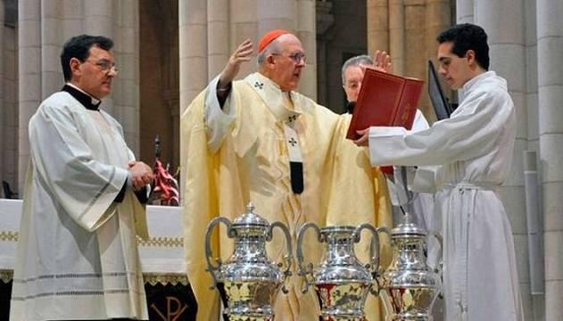 La parroquia celebrará los actos de la Semana Santa
