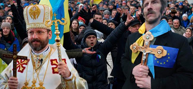 Resultado de imagen de Los católicos de Ucrania