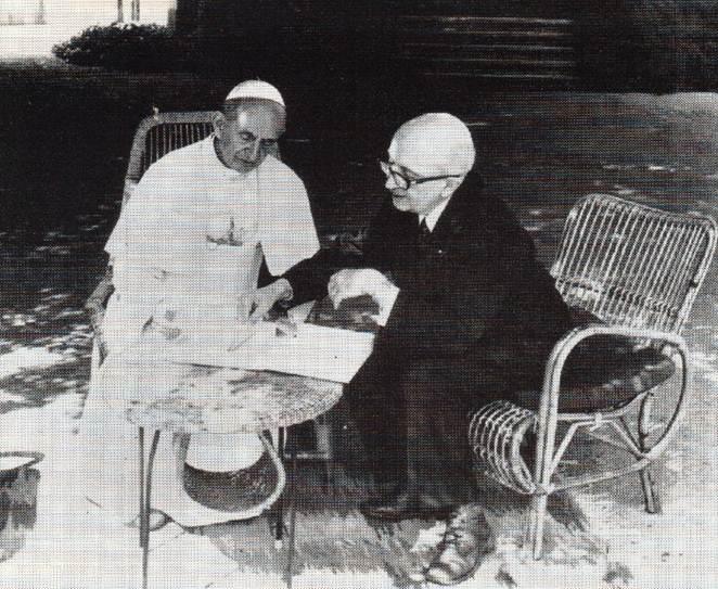 Guitton y Pablo VI