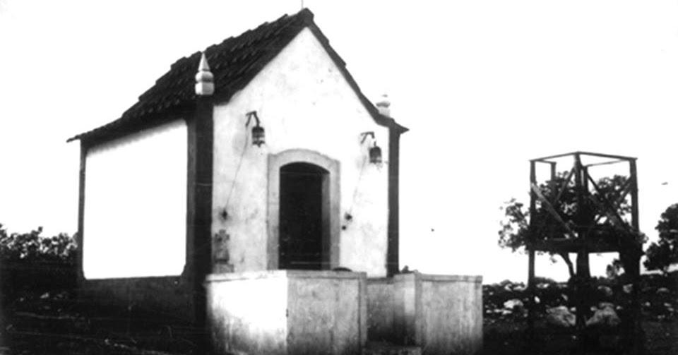 Capilla de las Apariciones en 1922.
