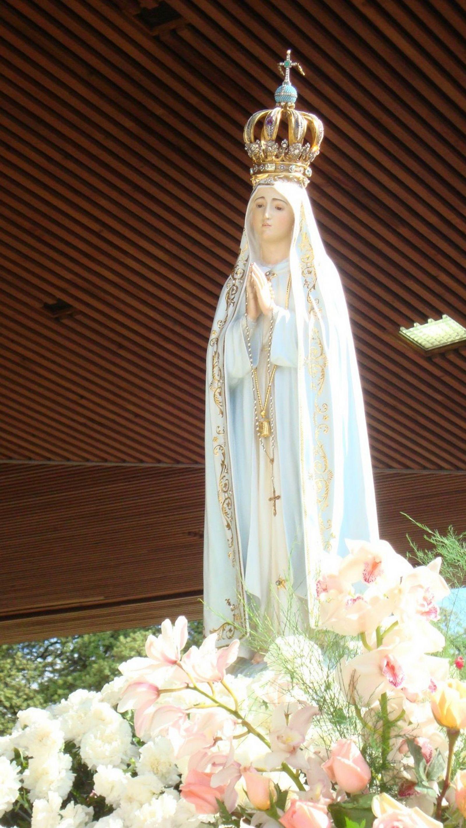 Virgen de Fátima.