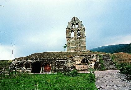 Exterior de Santa María de Valverde.