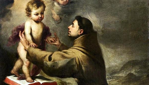 San Antonio de Padua, cuadro de Murillo.