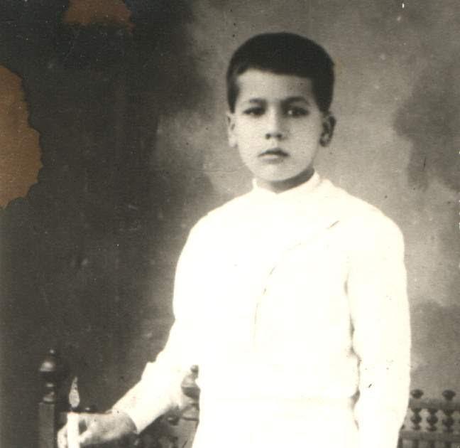 San José Sánchez del Río, el día de su Primera Comunión