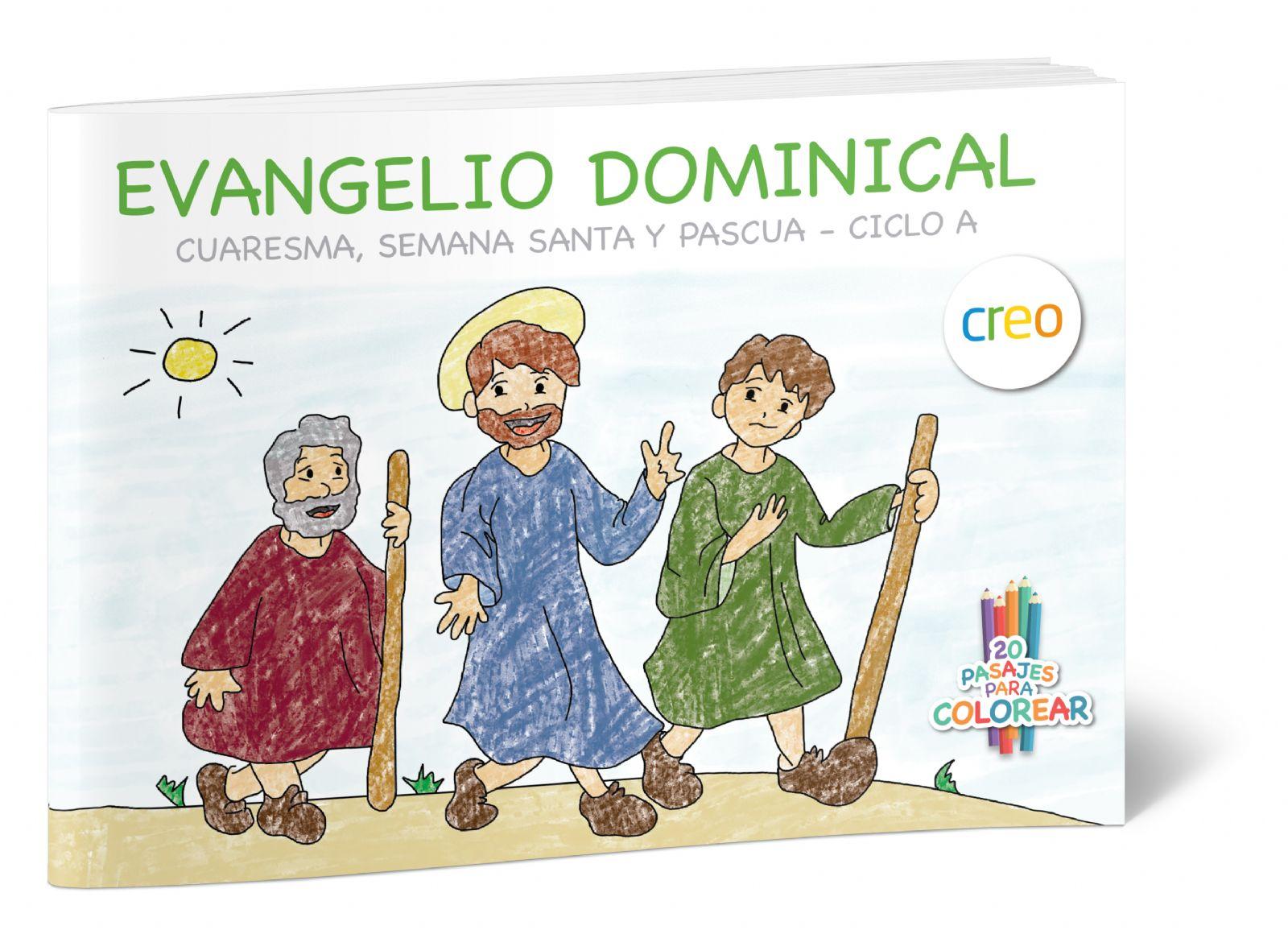 Libro Para Colorear Y Comentar Con Los Niños 20 Escenas De La