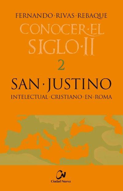 Portada de San Justino intelectual cristiano en Roma