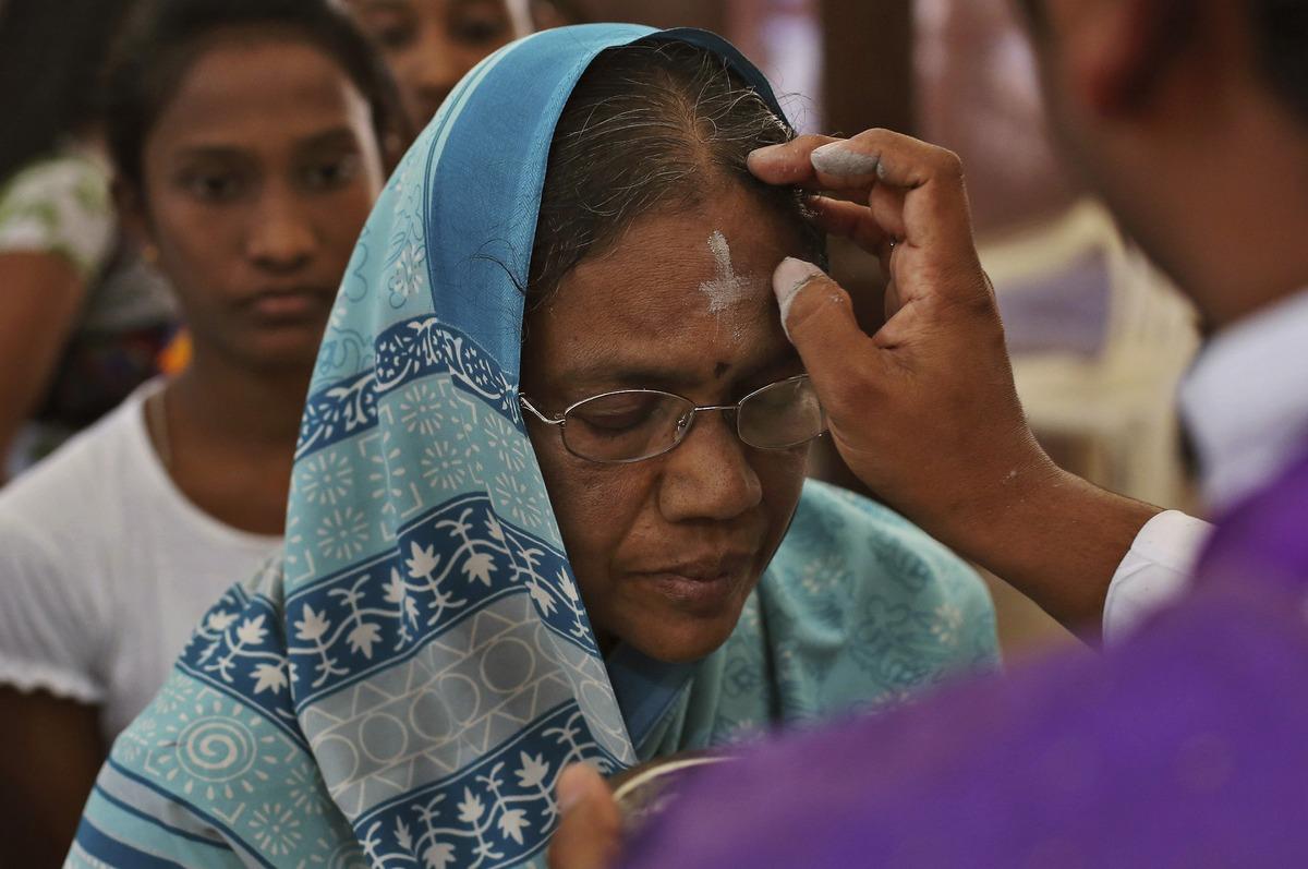 Miércoles de Ceniza en la India o Pakistán... hasta los no cristianos pueden recibir la ceniza