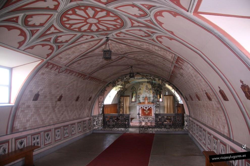 Interior de La Capitula Italiana.