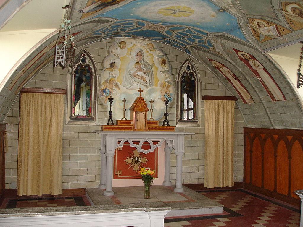 Altar de La Capilla Italiana.