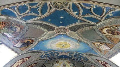 Frescos del techo