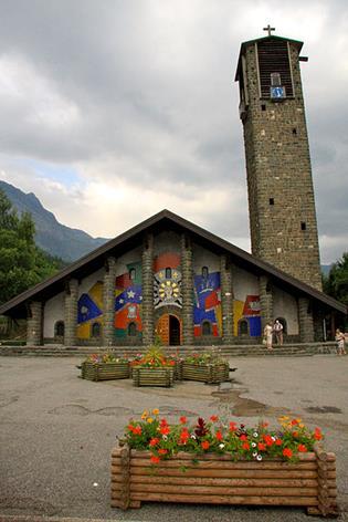 Exterior del templo de Nuestra Señora de Gracia.