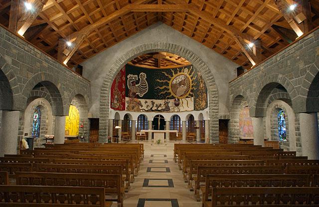 Interior del templo de Nuestra Señora de Gracia.