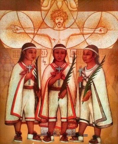 Los tres niños mártires de Tlaxcala